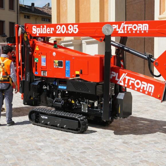 Platform Basket Spider 20.95 Series 3